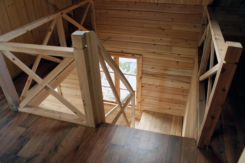 خانه چوبی دوبلکس تهران