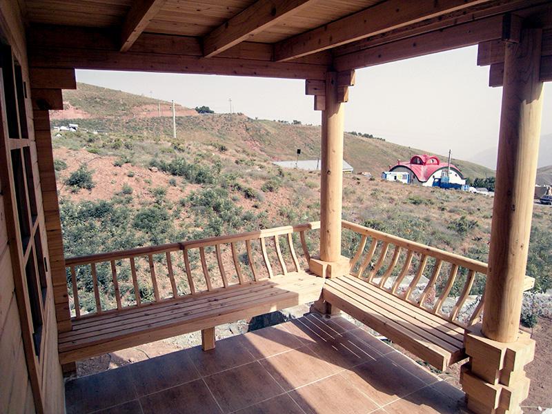 خانه پیش ساخته چوبی دوبلکس لواسان