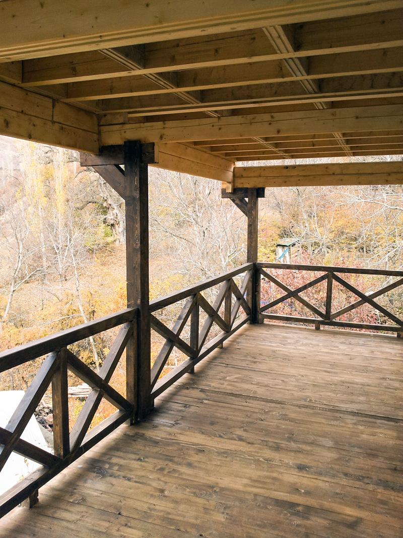 خانه چوبی دوبلکس 120 متری طالقان
