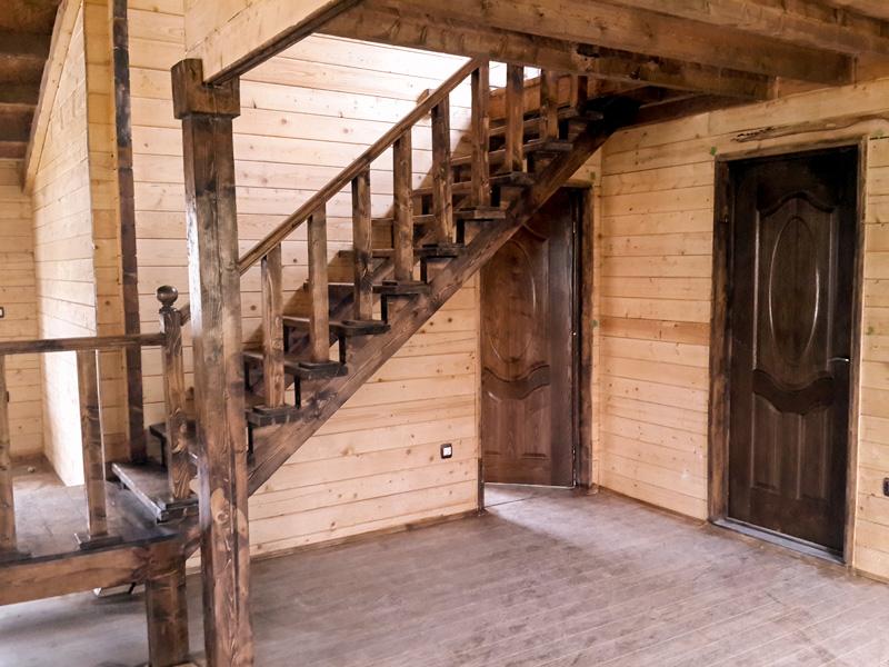 خانه پیش ساخته چوبی 120 متری کردان