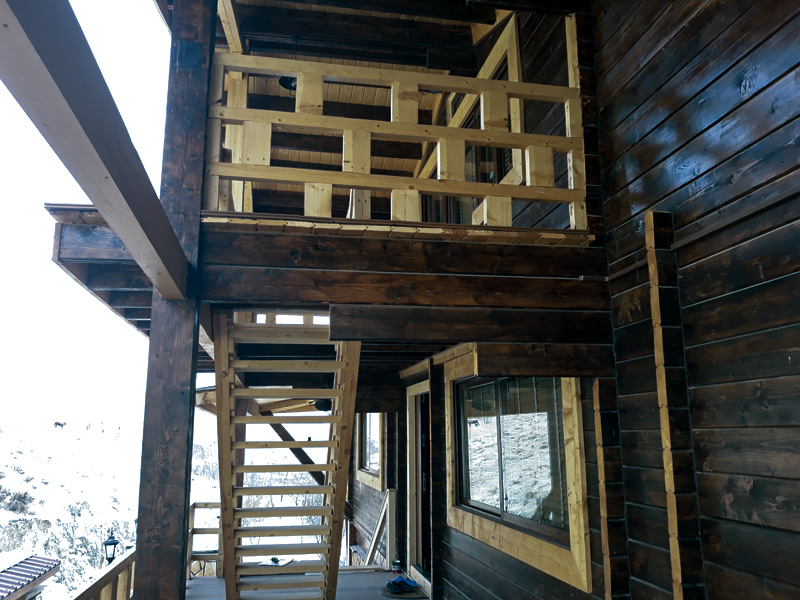 ویلای پیش ساخته چوبی 350 متری لواسان