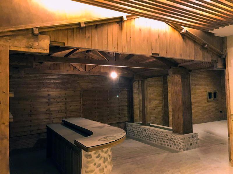 کافی شاپ چوبی 36 متری فرمانیه