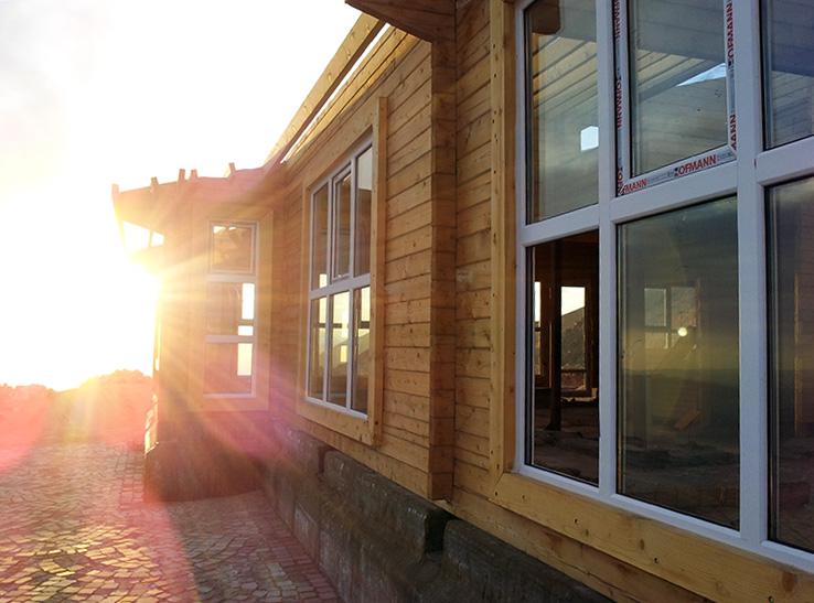 رستوران پیش ساخته چوبی 500 متری فیروزکوه