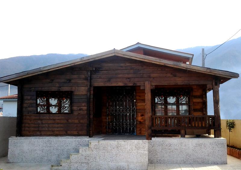 خانه پیش ساخته چوبی چلندر نوشهر