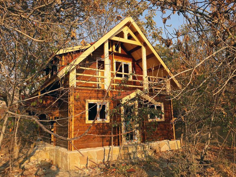خانه چوبی 80 متری لواسان
