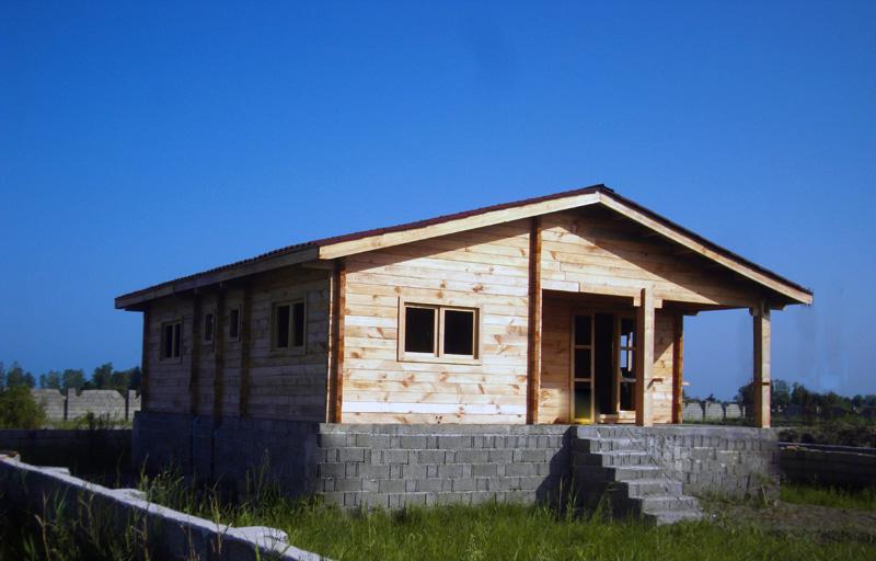خانه چوبی چمخاله