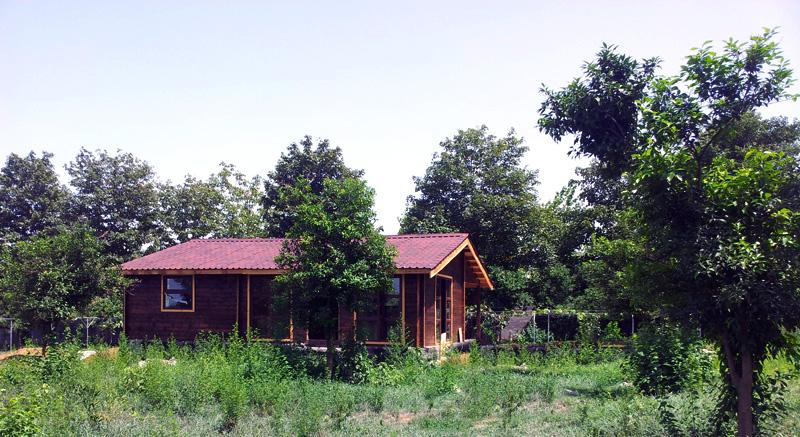 ویلای چوبی نوشهر