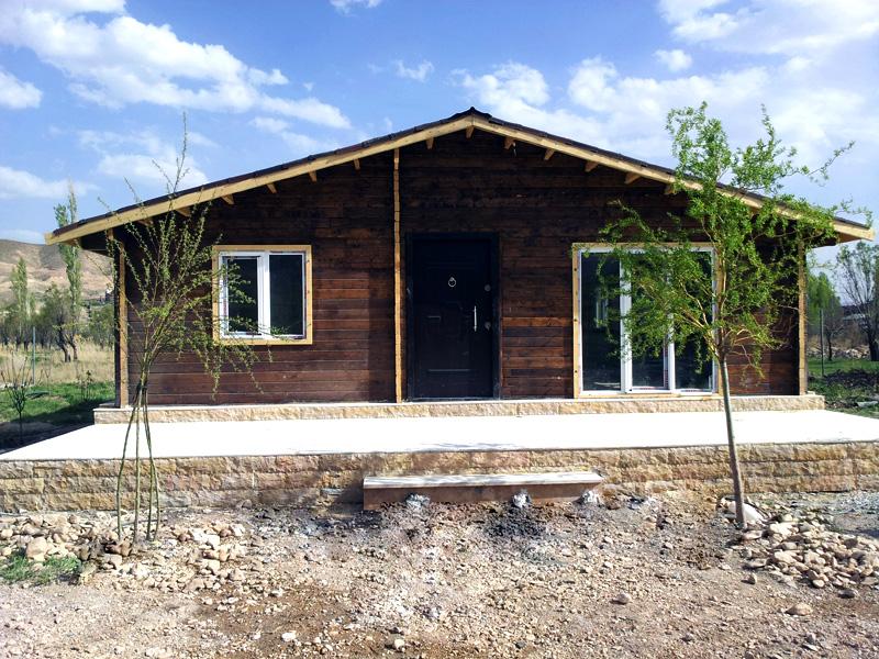 ویلای چوبی فیروزکوه 90 متری
