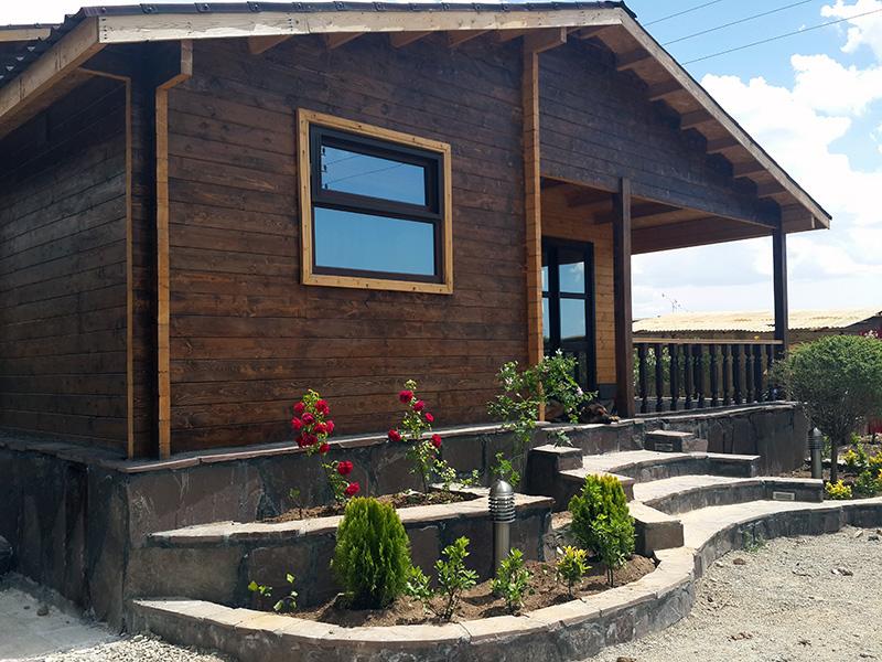 خانه پیش ساخته چوبی 110 متری آبسرد