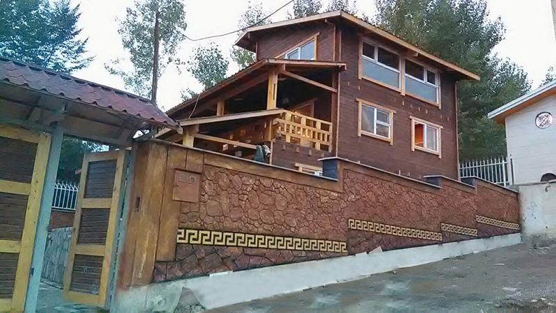 ویلای پیش ساخته چوبی 190 متری آلاشت