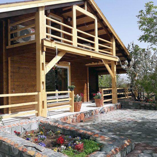 خانه پیش ساخته چوبی 200 متری اصفهان