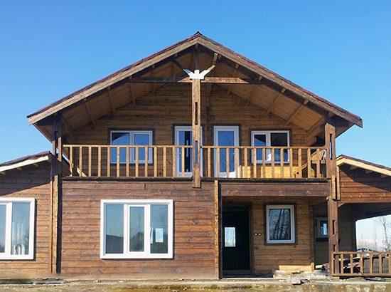 خانه چوبی پیش ساخته 250 متری انزلی